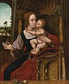 The madonna of the cherries, by Quinten Massys.jpg