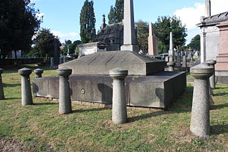 Prince Augustus Frederick, Duke of Sussex - The tomb of Prince Augustus Frederick, Kensal Green Cemetery