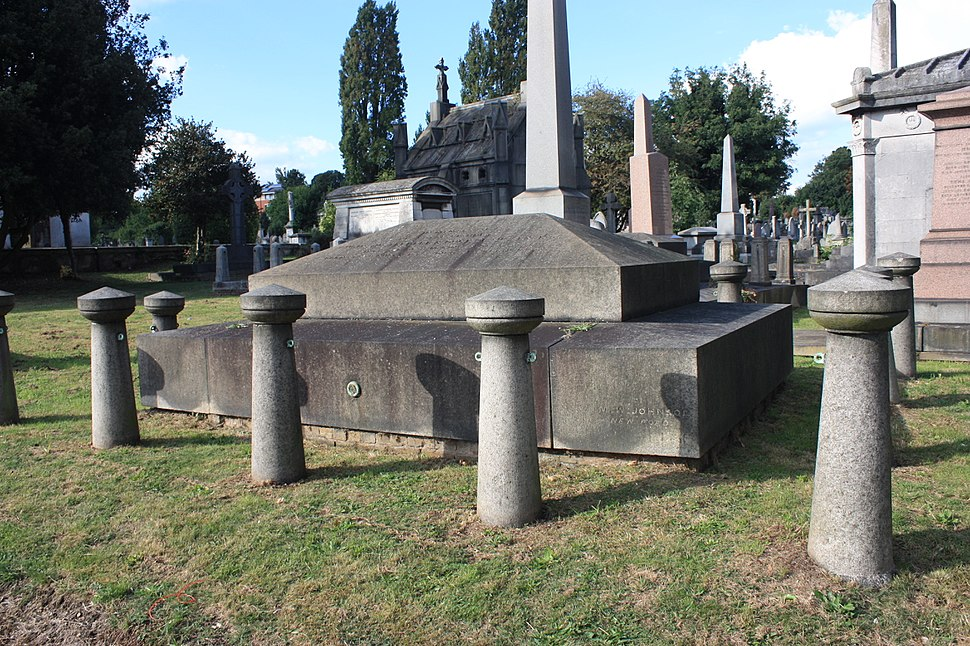 The tomb of Prince Augustus Frederick, Kensal Green Cemetery