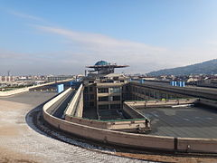The view from one end of Lingotto Building - This is the old Fiat test track. (11203423576).jpg