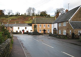 Clearwell village in United Kingdom