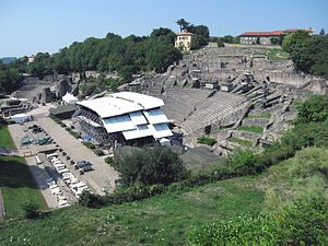 Ancient Theatre of Fourvière - The theatre during the festival