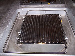 Space Power Facility - Image: Thermo Vac Scavenger Plate
