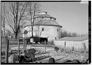 Thomas Ranck Round Barn - Thomas Ranck Round Barn, Indiana
