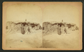 Three people in front of a sod house, by Conklin & Kleckner.png