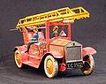 Tin toy fire truck, pic-013.JPG
