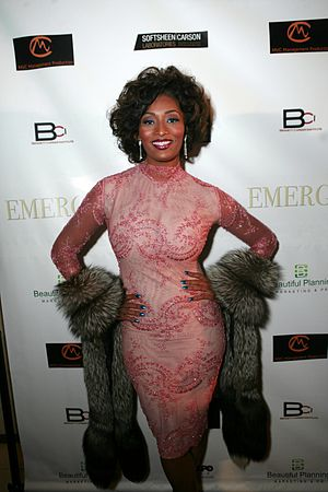 Toccara Jones at the BET Hip Hop Awards in Atl...