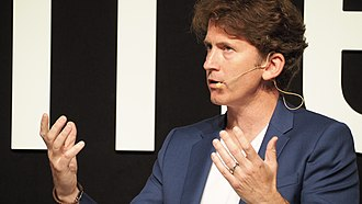 Todd Howard - Howard at Gamelab Barcelona in 2018