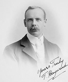 Tom Hayward Cricket player of England.