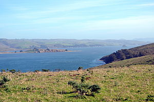 Tomales Bay - Tomales Bay as viewed from Tomales Point Trail