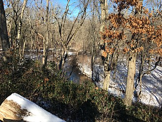 Toms River - The Toms River as it appears upstream in Jackson Township