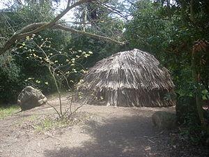 Tongva - Replica of a Tongva ki