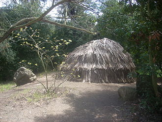 Tongva - Replica of a Tongva ki