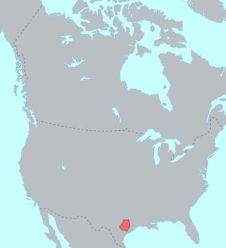 Tonkawa - Tonkawa lands