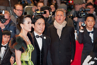 Zhang Ziyi - Zhang and Tony Leung at the premiere of The Grandmaster at the 2013 Berlin International Film Festival