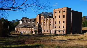 Mittagong -  One of two major buildings that make up the Maltings