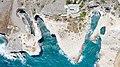 Top down aerial of Papafragas Beach on Milos Island, Greece.jpg
