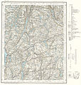 Topographic map of Norway, D39 vest Bjelland, 1960.jpg