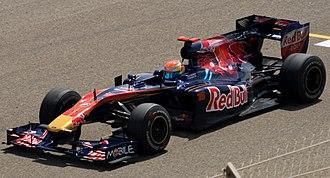 Toro Rosso STR5 - Image: Toro Rosso STR5 Bahrain 2010 (cropped)