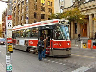 Urban rail transit - The Toronto streetcar system is an extensive tram network