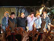 David Paich & Toto in 2004, one of his last shows