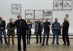 Tour de Minsk - Exhibition of drawings in Palace of Art, Minsk 23.10.2014 05.JPG