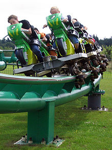 Boosterbike, Toverland