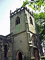 Tower, Parish church of St James, Didsbury - geograph.org.uk - 267063.jpg