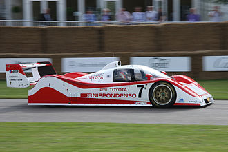 1992 World Sportscar Championship - Toyota Team Tom's placed second with the Toyota TS010