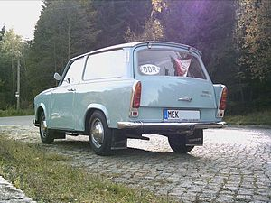 Trabant 601 - A 1970 Trabant 601 DeLuxe Universal.