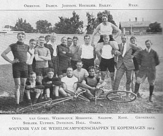 1914 UCI Track Cycling World Championships - Group photos of competitors
