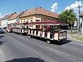 Trackless train, Batthyány Street, 2020 Pápa.jpg