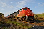 Trainspotting CN -8950 EMD SD70M-2 leading CN -2588 GE C44-9W (Dash 9-44CW) (8098457546).jpg