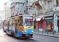 Tramway in Sofia in Alabin Street 2012 PD 048.jpg