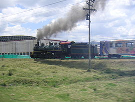 "The ""Tren de la Sabana"" connects Bogotá with Zipaquirá"