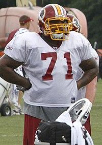 30af2e39bcb Williams at Redskins training camp in 2011.