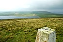 Trig point on Costa Hill, looking west - geograph.org.uk - 234637.jpg