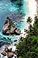 Tropical beach in Nusa Penida, Bali; January 2020.jpg