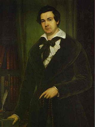 Портрет Василия Каратыгина. 1842