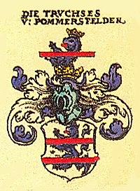 Truchsess von Pommersfelden Siebmacher101- Franken.jpg