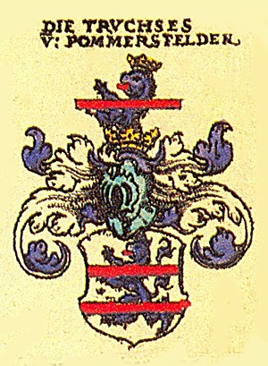 Pommersfelden - Truchseß von Pommersfelden family's coat of arms