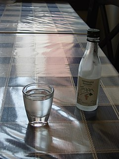 Tsipouro Alcoholic beverage from Greece