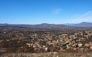 Tuggeranong Cadastral in Australian Capital Territory