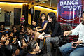Tulip Joshi interacts with young girls at Arts in Motion's 'Dance with Joy' event 07.jpg