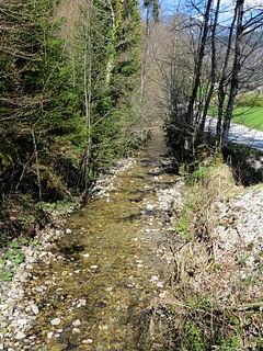 Tunjščica river in Slovenia