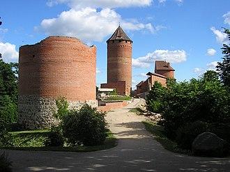 Turaida - Turaida Castle from north