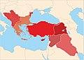 Turkey Turkish dialects map (Main subgroups).jpg