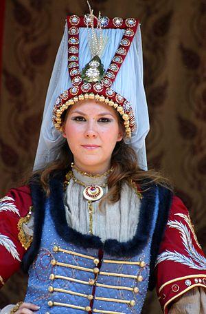 Turkish salvar - Image: Turkish traditional fashion 4