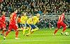 UEFA EURO qualifiers Sweden vs Romaina 20190323 Sebastian Larsson and Emil Forsberg.jpg