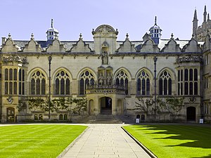 Oriel College, Oxford - East range of the First Quad